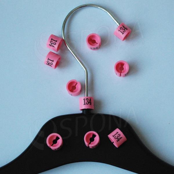 Minireitery 134, 25 ks, růžové