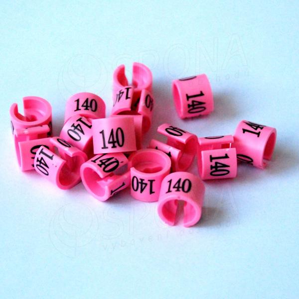 Minireitery 140, 25 ks, růžové