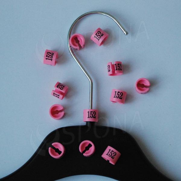 Minireitery 152, 25 ks, růžové