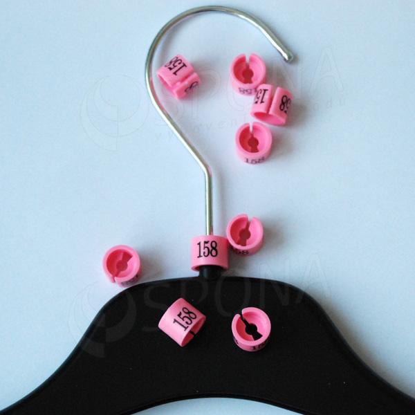 Minireitery 158, 25 ks, růžové