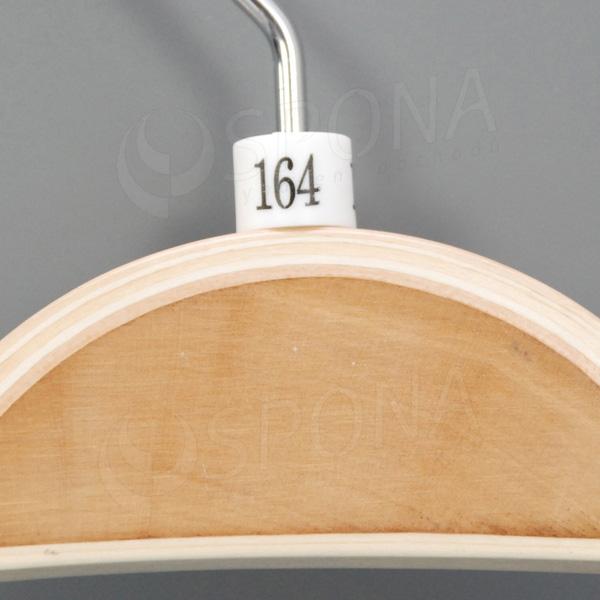 Minireitery 164, 25 ks, bílé