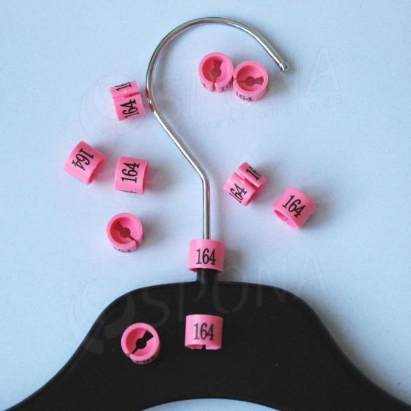 Minireitery 164, 25 ks, růžové