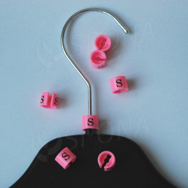 Minireitery S, 25 ks, růžové