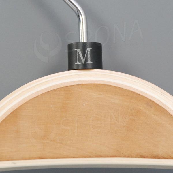 Minireitery M, 25 ks, černé, stříbrný tisk