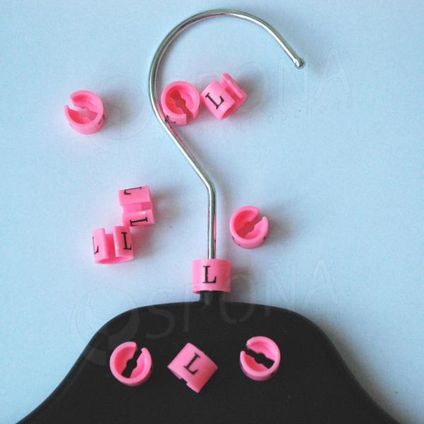 Minireitery L, 25 ks, růžové