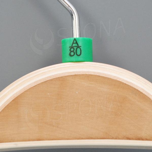 Minireitery podprsenkové, A/80, 25 ks, zelené