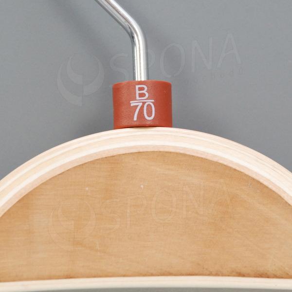 Minireitery podprsenkové, B/70, 25 ks, hnědé