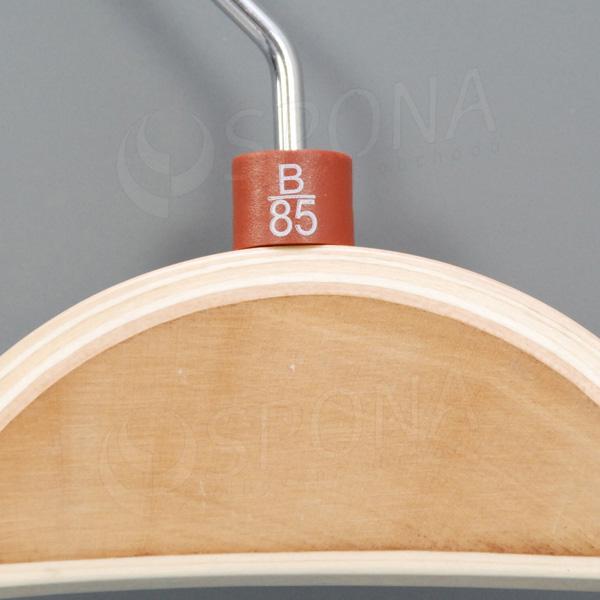 Minireitery podprsenkové, B/85, 25 ks, hnědé