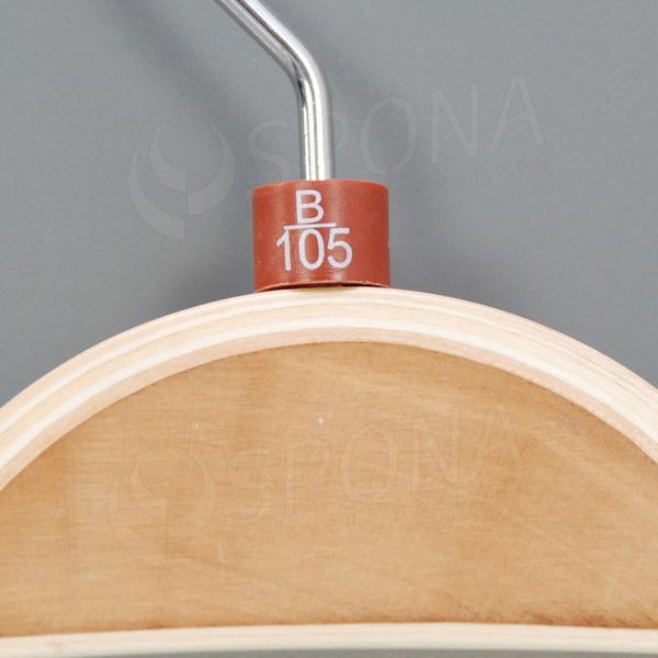 Minireitery podprsenkové, B/105, 25 ks, hnědé