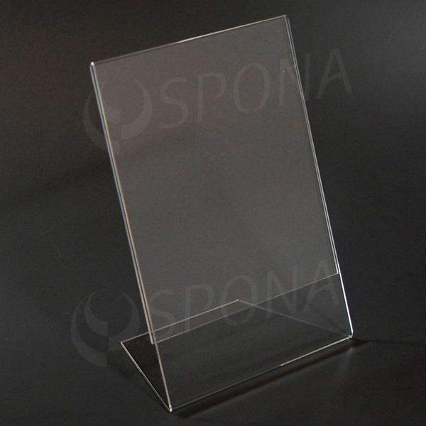 Plexi stojánek L A5, na výšku i na šířku, 210 x 148 mm