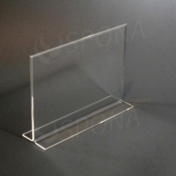 Akrylátový I stojánek A5, na šířku, 210 x 148 mm