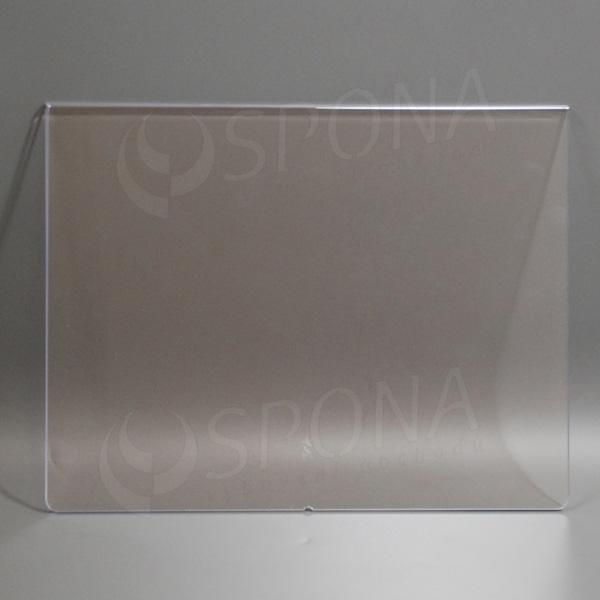 Akrylátová kapsa A4, na šířku, 297 x 210 mm