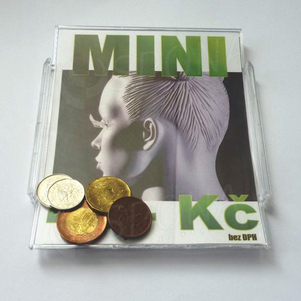 Mincovník MINI, plast