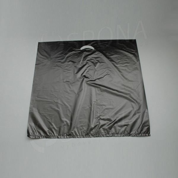 Igelitová taška MDPE, 60 x 60 cm, černá