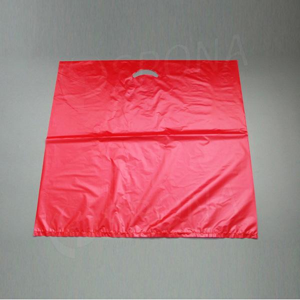 Taška MDPE 60 x 60 cm, červená