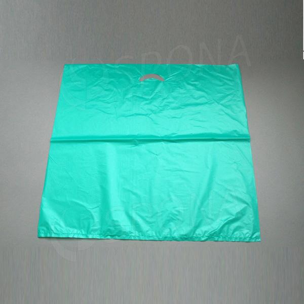 Igelitová taška MDPE, 60 x 60 cm, zelená