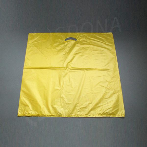 Igelitová taška MDPE, 60 x 60 cm, žlutá