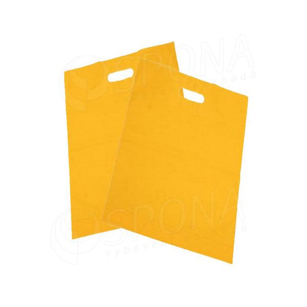Igelitová taška LDPE 20 x 30 + 5 cm, žlutá