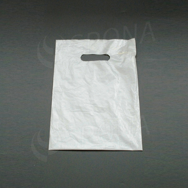 Igelitová taška LDPE 25 x 35 cm, bílá