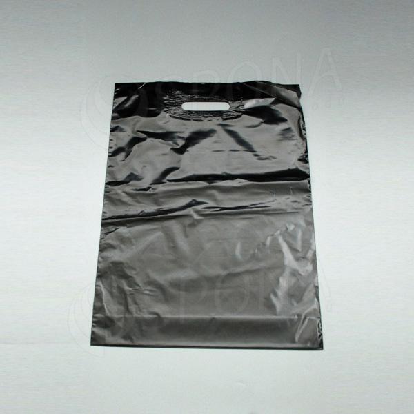 Igelitová taška LDPE 35 x 50 x 5 cm, černá