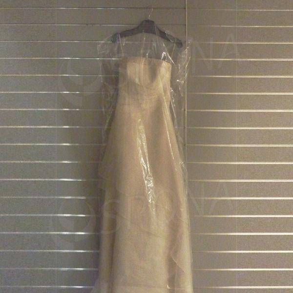 Obal na šaty, 60 x 150 cm, materiál PE