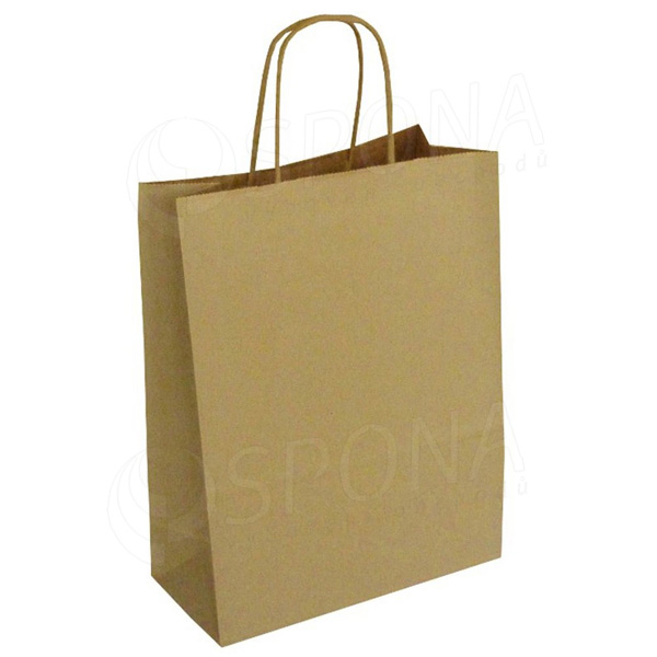 Papírová taška PASTELO, 45+15 x 49 cm, 110 gr., havana