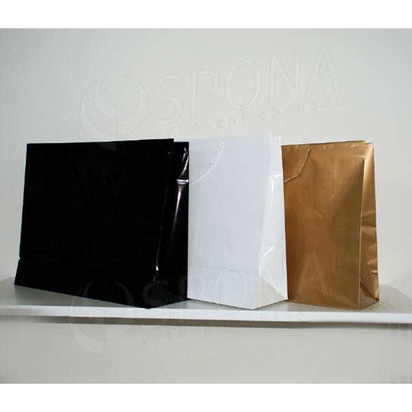Papírová taška LAMINO 54x16x43 cm, zlatá lesklá