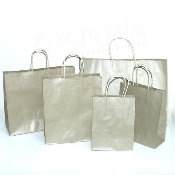 7ae459028 Taška papírová PLATINA, 27+12 x 31+6 cm | Papírové tašky | Balení ...