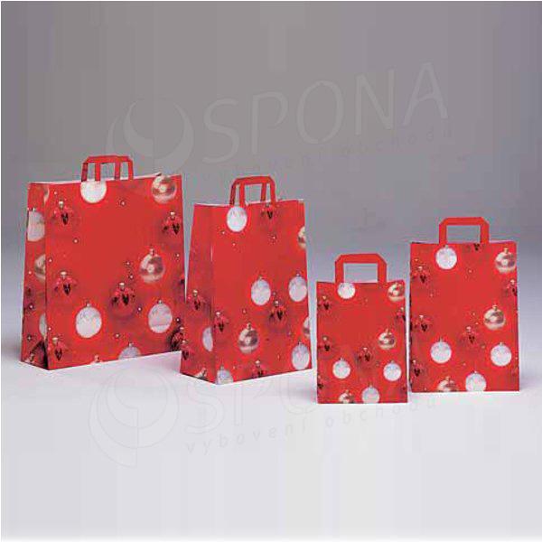 Papírová taška FANTAZIE, 32 x 17 x 45 cm, vánoční vzor