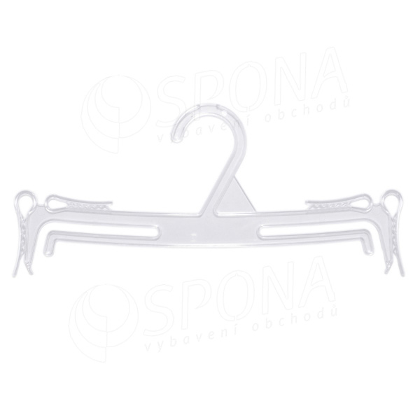 Plastová ramínka na spodní prádlo, typ WBO 1, šířka 24 cm