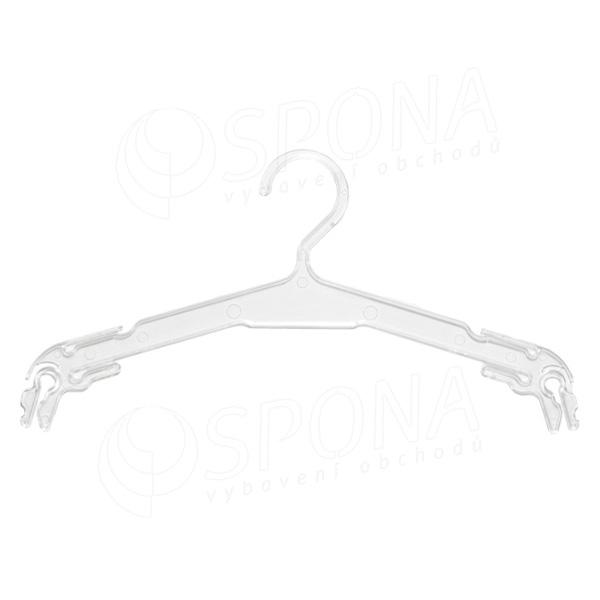 Plastová ramínka na spodní prádlo, typ WBO 7, délka 32 cm