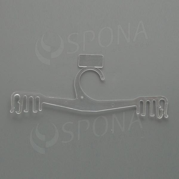 Plastová ramínka na spodní prádlo, typ WBO 14, délka 22 cm