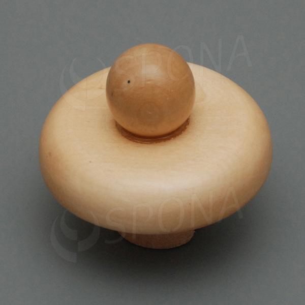 Krček k panně dřevěný, velikost 38, nízký, světlý