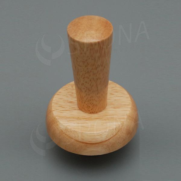 Krček k panně ELITE dřevěný, velikost 38, vysoký, světlý