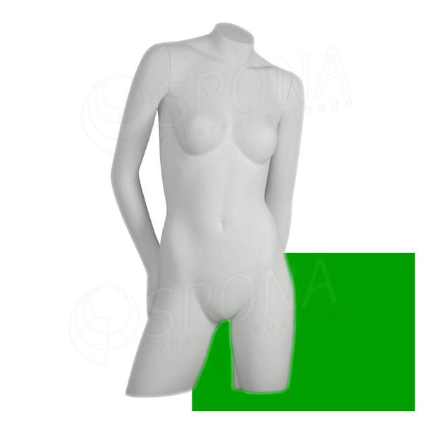 Bysta COLOR dámská, typ 3, zelená