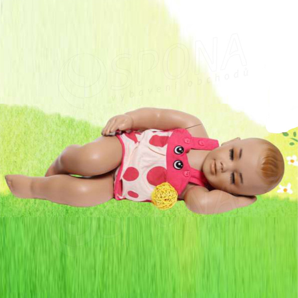 Figurína dětská AF 05, spící batole, tělová