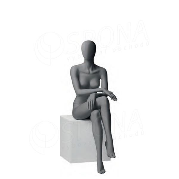 Figurína dámská CITY 06, matná šedá