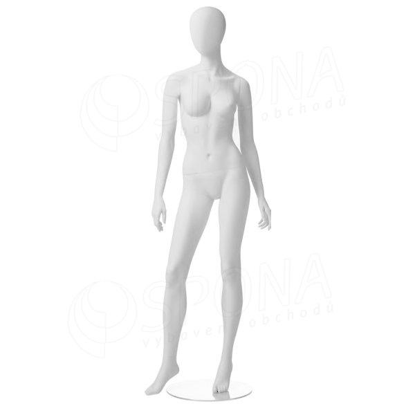 Figurína dámská CITY 02, matná bílá