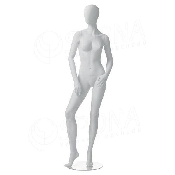 Figurína dámská CITY 04, matná bílá