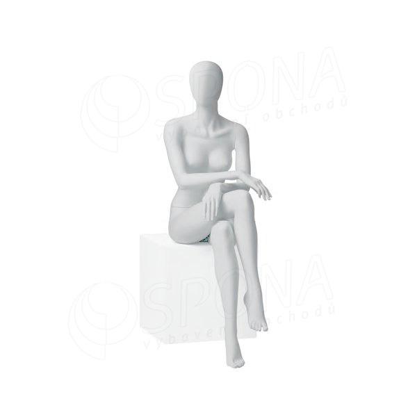Figurína dámská CITY 06, matná bílá