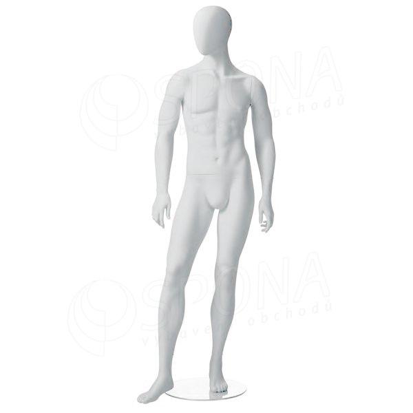 Figurína pánská CITY 03, matná bílá