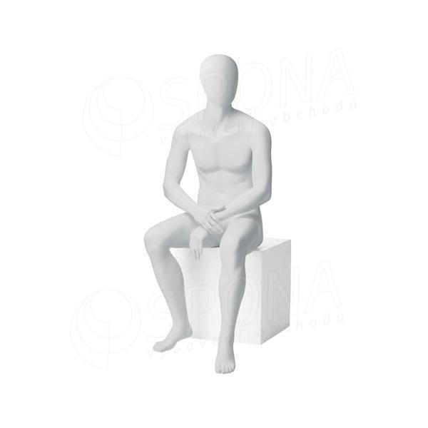 Figurína pánská CITY 06, matná bílá