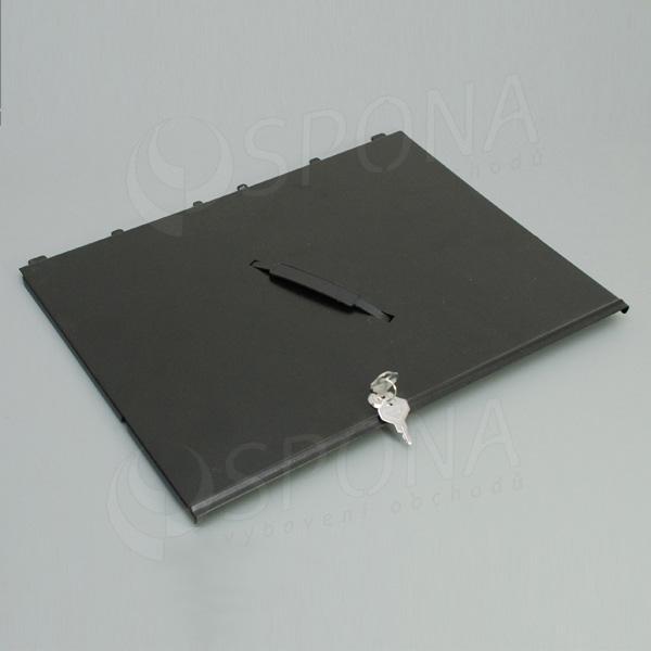 Pokladní kryt pro insert EC 410, kov