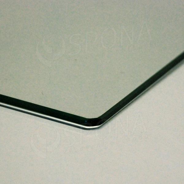 Police skleněná TEMPER, 1600 x 488 x 4 mm, čirá