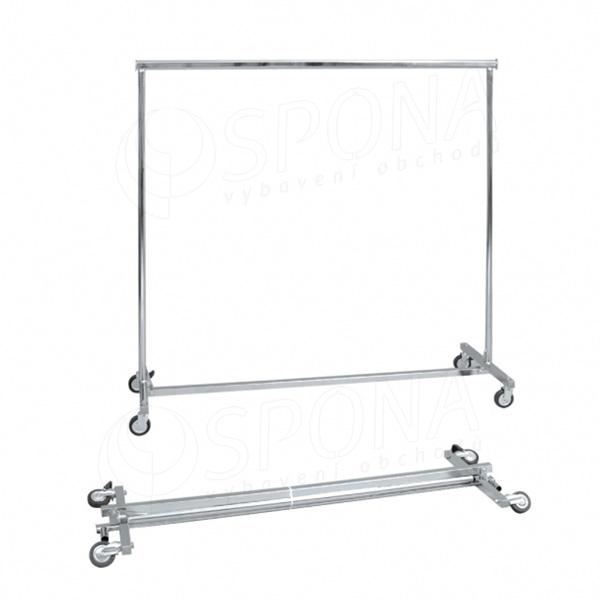 Štendr 1000E, skládací stavitelný, výška 150 - 220 cm, šířka 150 - 220 cm, kovová kolečka