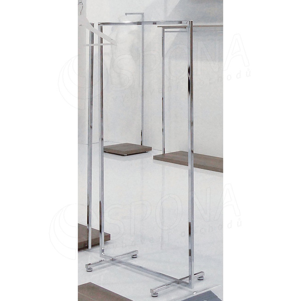 CUADRO 100, štendr 1000 x 1450 mm, chrom