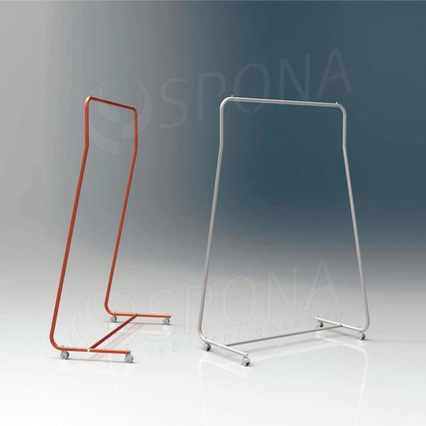 Štendr SIMPLY 1510, výška 170 cm, šířka 96 cm, plastová kolečka, chrom