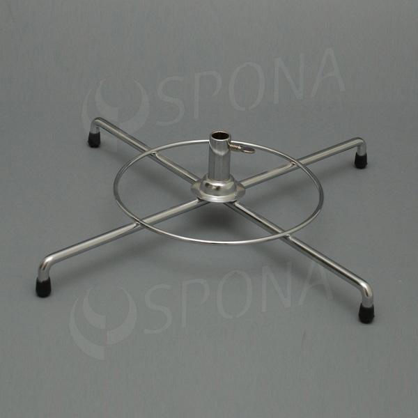 Stojánek na stůl, kříž velký, 350 mm, chrom