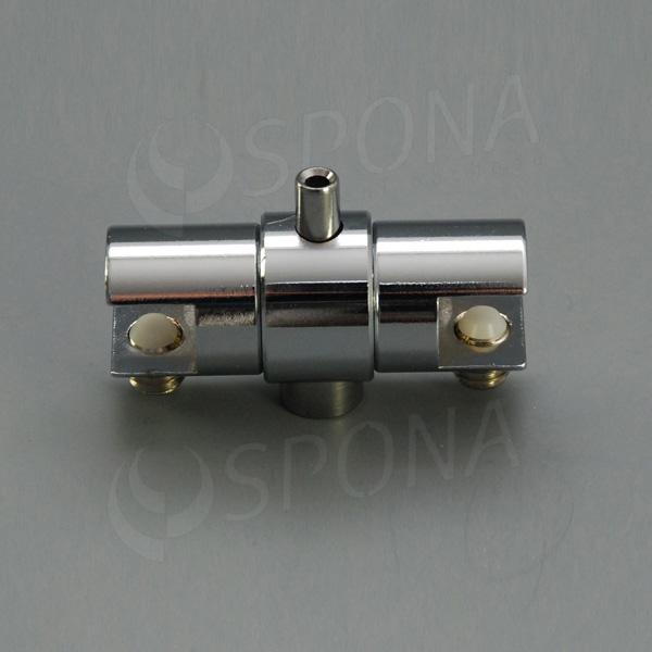WIRE úchyt police, otočný oboustranný pro lanko průměru 1,5 - 2,0 mm, chrom