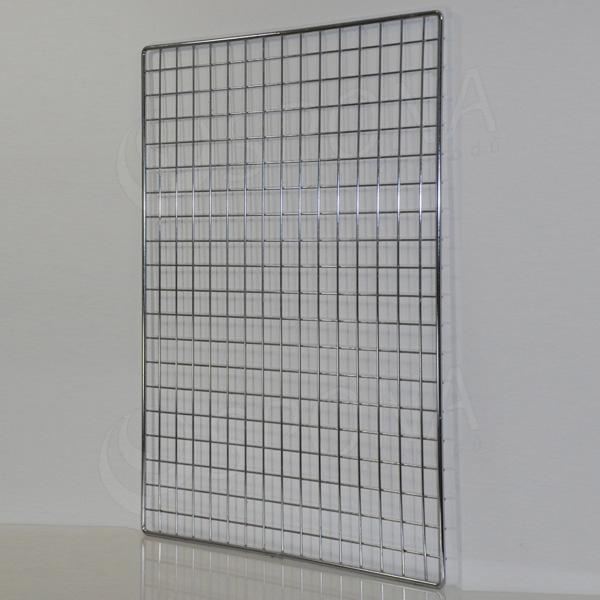 SÍŤ 5 mříž 1, rozměr 100 x 80 cm, chrom